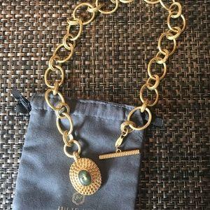 JULIE VOS 24K Gold Penelope Labradorite Necklace